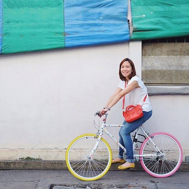 จักรยานผู้หญิง แจกความสดใส