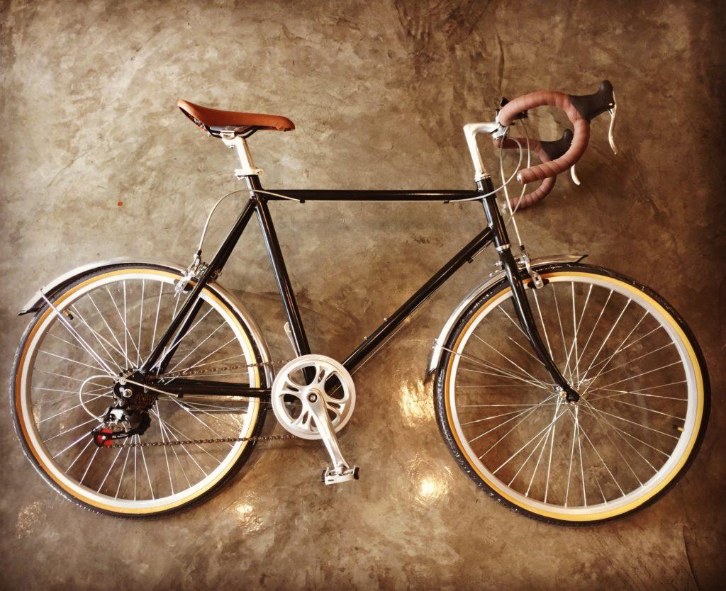 จักรยานแฮนหมอบวินเทจ คลาสสิกดำ